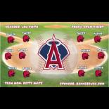 Angels Vinyl Baseball Team Banner E-Z Order