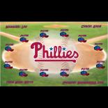 Phillies Baseball Team Banner - Live Designer