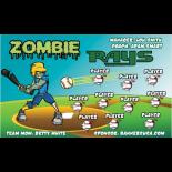 Rays Vinyl Baseball Team Banner - E-Z Order