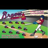 Braves Baseball Team Banner - Live Designer