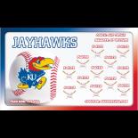 Kansas Jayhawks College Team Banner Live Designer