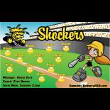 Wichita State Shockers College Team Banner Live Designer