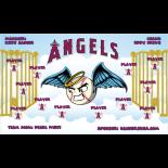Angels Vinyl Baseball Team Banner - E-Z Order