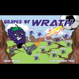 Grapes of Wrath Vinyl Soccer Banner - E-Z Order