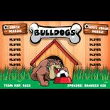 Bulldogs Vinyl Soccer Banner E-Z Order