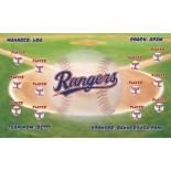 Rangers Vinyl Baseball Team Banner E-Z Order