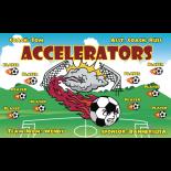Accelerators Fabric Soccer Banner - Live Designer