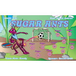 Ants Sugar Fabric Soccer Banner Live Designer