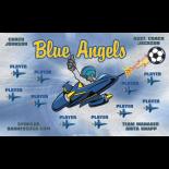 Blue Angels Vinyl Soccer Banner Live Designer