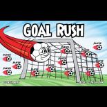 Goal Rush Vinyl Soccer Banner - Live Designer