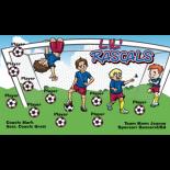 Rascals LiL Vinyl Soccer Banner - Live Designer