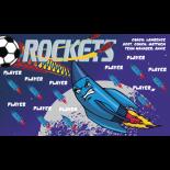 Rockets Fabric Soccer Banner - Live Designer