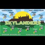 Skylanders Fabric Soccer Banner - E-Z Order