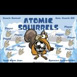 Atomic Squirrels Vinyl Soccer Banner Live Designer