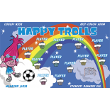 Happy Trolls Vinyl Soccer Banner Live Designer