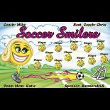 Soccer Smilers Vinyl Soccer Banner Live Designer