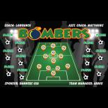 Bombers Vinyl Soccer Banner Live Designer