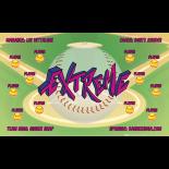 Extreme Softball Team Banner - Live Designer