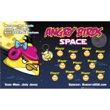 Angry Birds Space Softball Team Banner - Live Designer