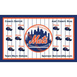 Mets Major League Team Banner - Live Designer