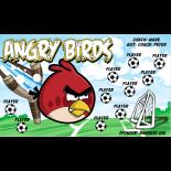 Angry Birds Vinyl Soccer Banner - Live Designer