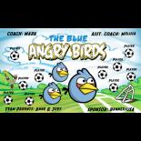 Angry Birds Vinyl Soccer Banner E-Z Order