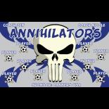 Annihilators Vinyl Soccer Banner E-Z Order