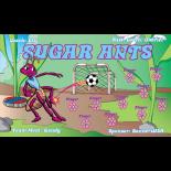 Ants Sugar Fabric Soccer Banner E-Z Order