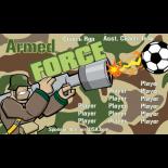 Armed Force Vinyl Soccer Banner E-Z Order