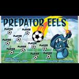 Eels Predator Vinyl Soccer Banner E-Z Order