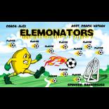 Elemonators Vinyl Soccer Banner - E-Z Order