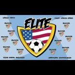 Elite Fabric Soccer Banner E-Z Order