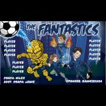 Fantastics Fabric Soccer Banner E-Z Order