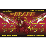 Flash Fabric Soccer Banner - E-Z Order