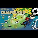 Guardians Vinyl Soccer Banner - E-Z Order