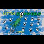 Hoppers Little Vinyl Soccer Banner - E-Z Order