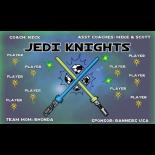 Jedi Knights Fabric Soccer Banner - E-Z Order