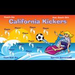 Kickers California Vinyl Soccer Banner - E-Z Order