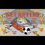 Net Rippers Vinyl Soccer Banner - E-Z Order