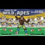 Planet of the Wild Apes Vinyl Soccer Banner - E-Z Order