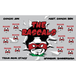 Rascals Vinyl Soccer Banner - E-Z Order