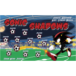 Sonic Shadows Vinyl Soccer Banner - E-Z Order