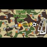 Special Ops Team Vinyl Soccer Banner - E-Z Order