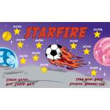 Starfire Fabric Soccer Banner - E-Z Order
