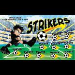 Strikers Vinyl Soccer Banner - E-Z Order