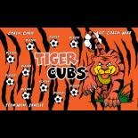 Tiger Cubs Vinyl Soccer Banner - E-Z Order