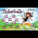 Tinkerbells Fabric Soccer Banner - E-Z Order