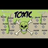 Toxic Vinyl Soccer Banner E-Z Order