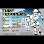 Turf Troopers Vinyl Soccer Banner - E-Z Order