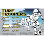 Turf Troopers Fabric Soccer Banner - E-Z Order